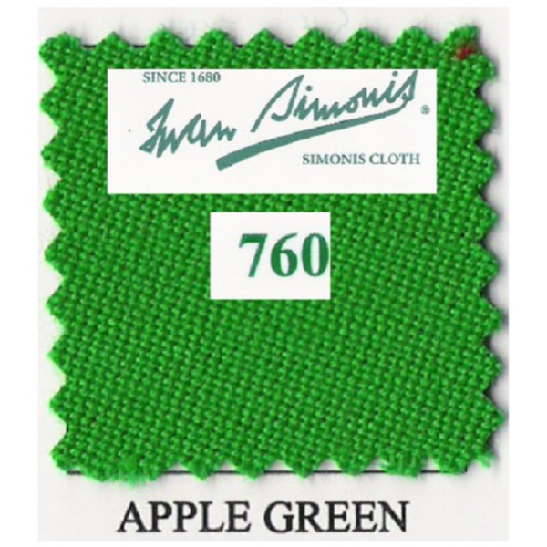 Tapis Simonis 760/195 Apple Green – Le mètre