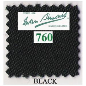 Tapis Simonis 760/195 Black – Le mètre