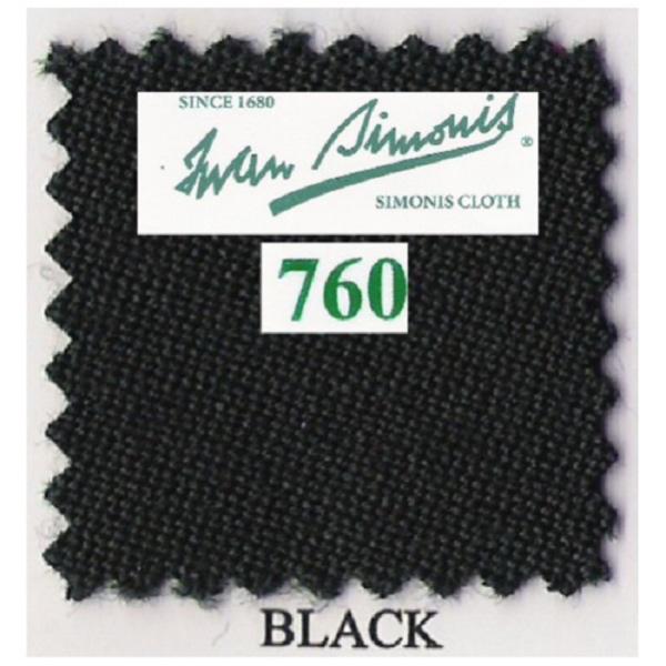 Tapis Simonis 760/195 Black – Le mètre linéaire