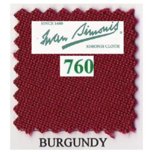 Tapis Simonis 760/195 Burgundy – Le mètre