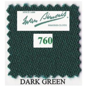 Tapis Simonis 760/195 Dark Green – Le mètre