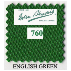 Tapis Simonis 760/195 English Green – Le mètre