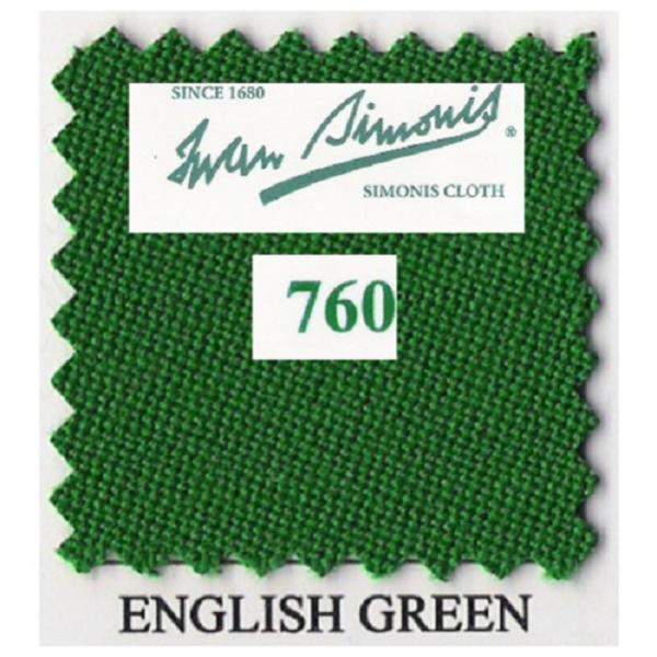Tapis Simonis 760/195 English Green – Le mètre linéaire