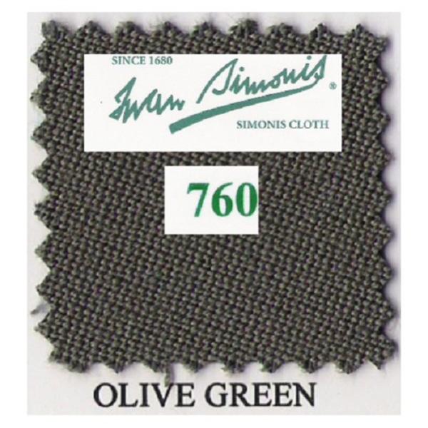 Tapis Simonis 760/195 Olive Green – Le mètre