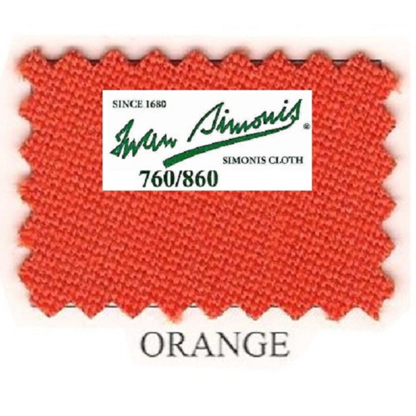 Tapis Simonis 760/195 Orange – Le mètre