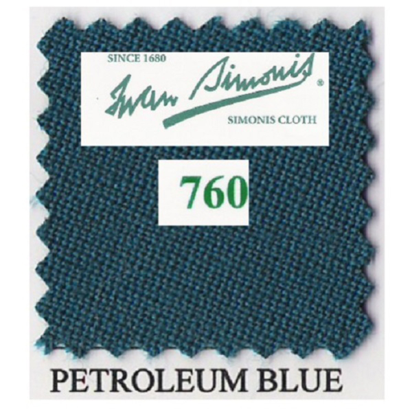 Tapis Simonis 760/195 Petrol Blue – Le mètre linéaire