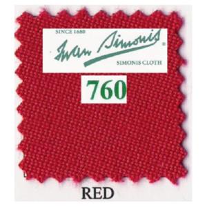 Tapis Simonis760/195 Red – 10 cm