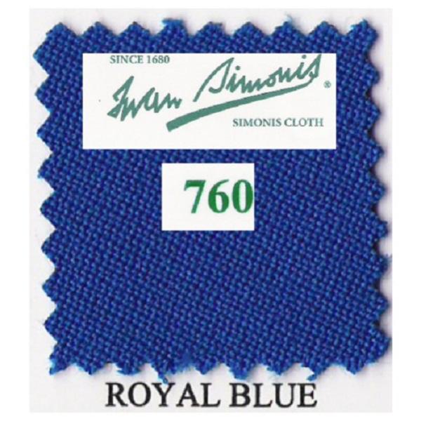 Tapis Simonis760/195 Royal Blue – 10 cm