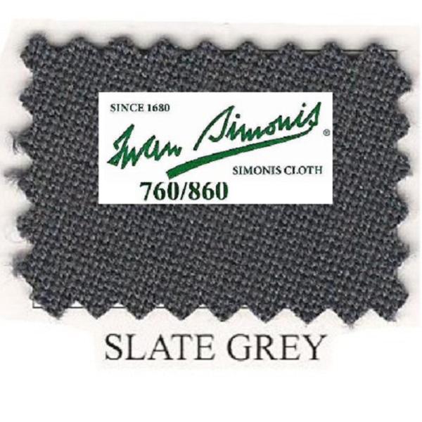 Tapis Simonis 760/195 Slate Grey – Le mètre