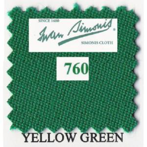 Tapis Simonis 760/195 Vert Jaune – Le mètre linéaire