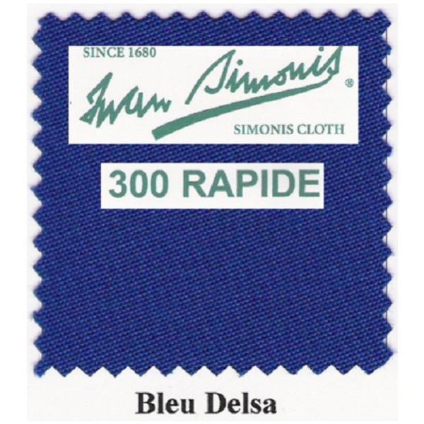 Tapis Simonis 300/195 Bleu Delsa – Le mètre
