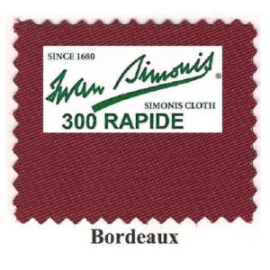 Tapis Simonis 300/170 Bordeaux – Le mètre