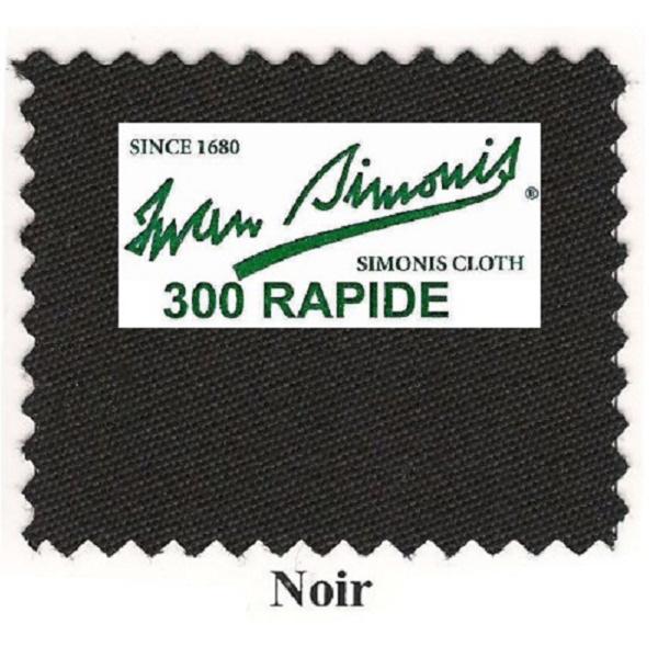 Tapis Simonis 300/170 Noir – Le mètre