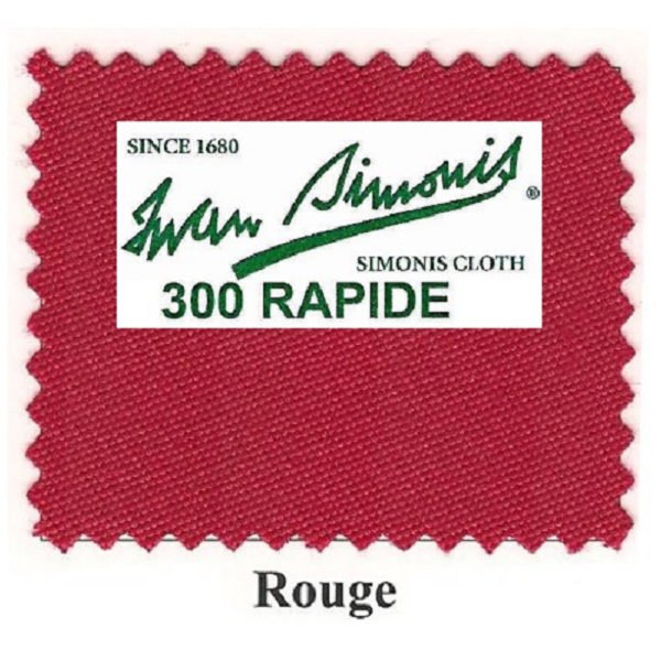 Tapis Simonis 300/170 Rouge – Le mètre