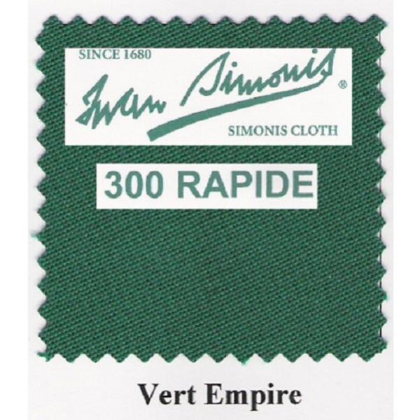 Tapis Simonis 300/170 Vert Empire – Le mètre linéaire