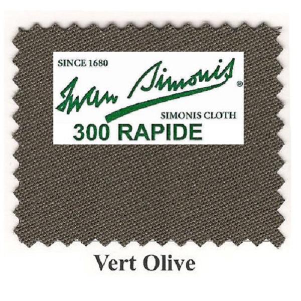 Tapis Simonis 300/195 Vert Olive – Le mètre