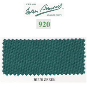 Tapis Simonis 920/195 Vert Bleu – 10 cm