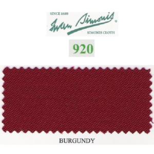 Tapis Simonis 920/195 Burgundy – Le mètre