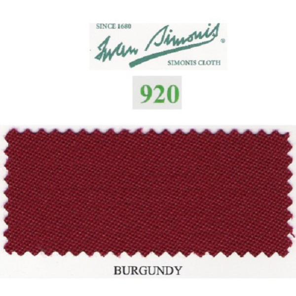 Tapis Simonis 920/195 Burgundy – Le mètre linéaire
