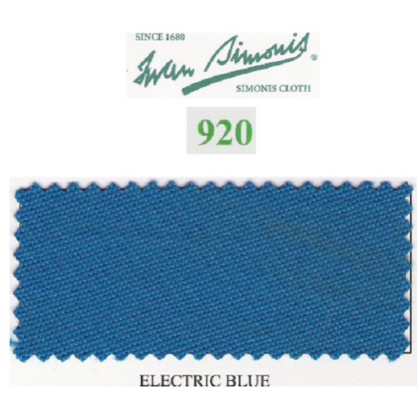 Tapis Simonis 920/195 Electric Blue – Le mètre linéaire