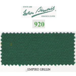 Tapis Simonis 920/195 Empire Green – Le mètre