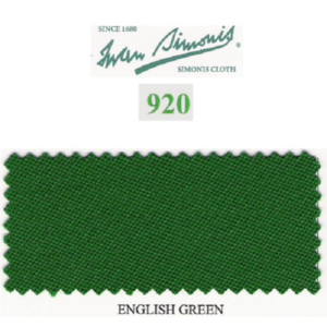 Tapis Simonis 920/195 English Green – Le mètre