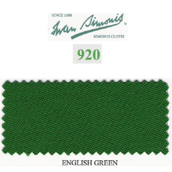 Tapis Simonis 920/195 English Green – Le mètre linéaire