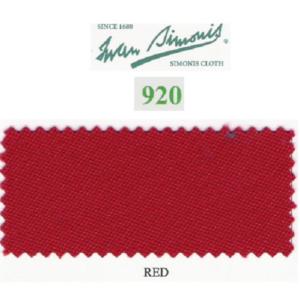 Tapis Simonis 920/195 Red – Le mètre
