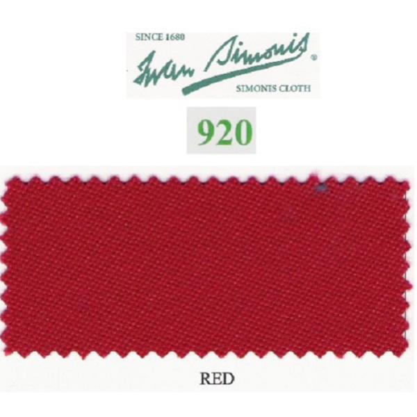 Tapis Simonis 920/195 Red – Le mètre linéaire