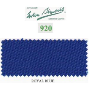 Tapis Simonis 920/195 Royal Blue – 10 cm