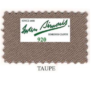Tapis Simonis 920/195 Taupe – Le mètre