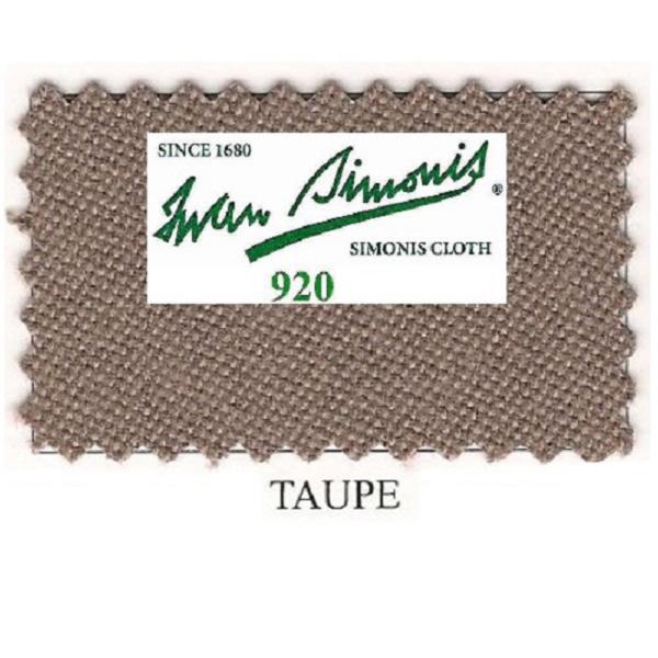 Tapis Simonis 920/195 Taupe – Le mètre linéaire