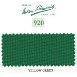 Tapis Simonis 920/195 Yellow Green – 10 cm