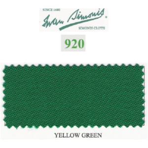 Tapis Simonis 920/195 Yellow Green – Le mètre
