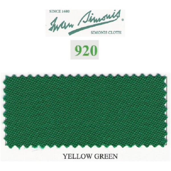 Tapis Simonis 920/195 Yellow Green – Le mètre linéaire