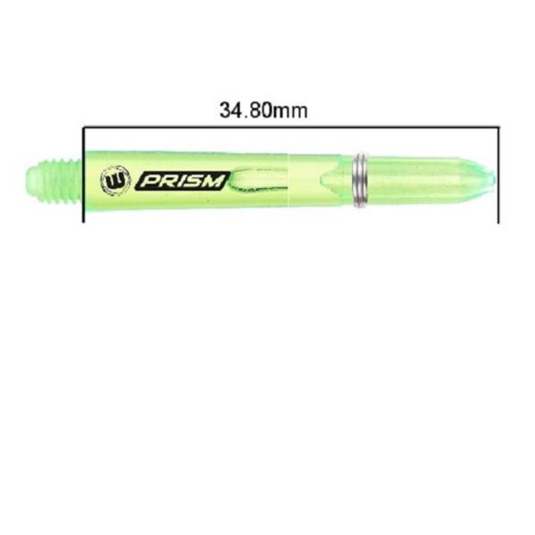 Tige (3) Prism green short
