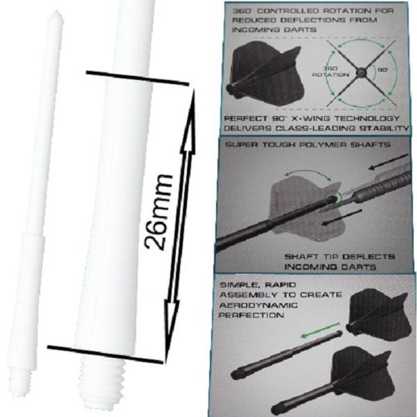 Tige (3) Stealth blanche intermediate (26mm)