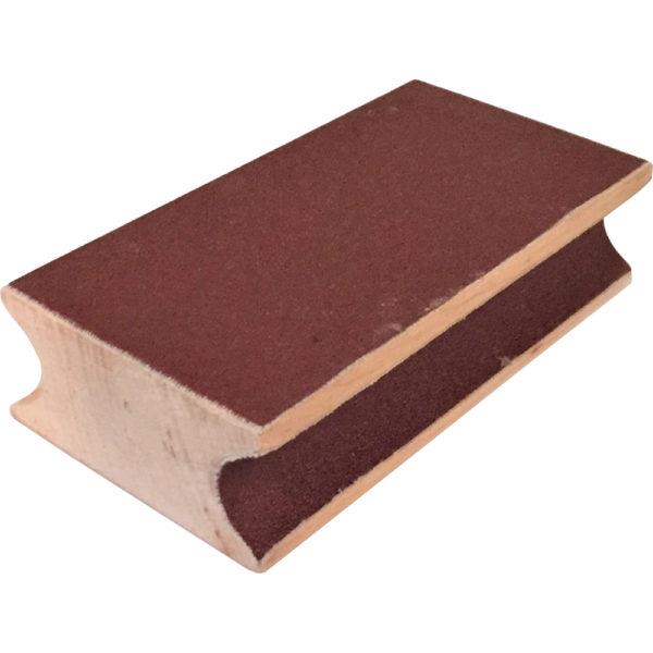 Bloc bois ponceur procédés 9cm