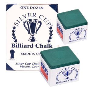 Craie Silvercup green boîte de 12