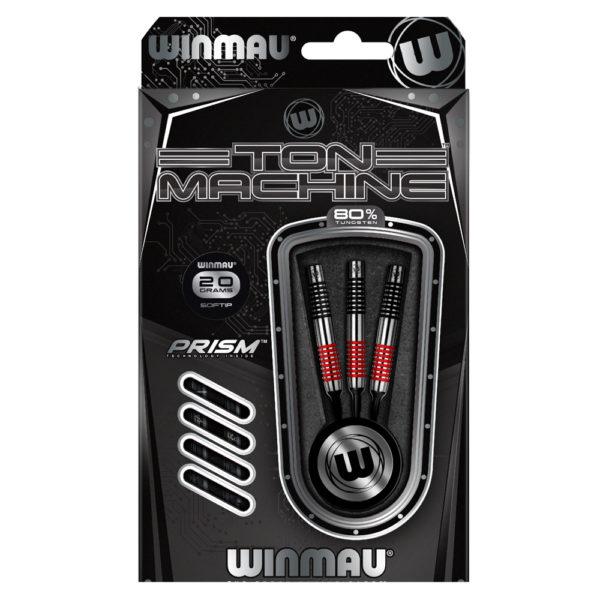 Jeu nylon Winmau Ton Machine Red 80% tgs 20g
