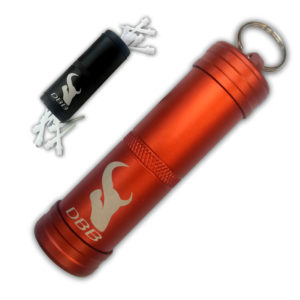 Porte-pointes nylon métallisé rouge