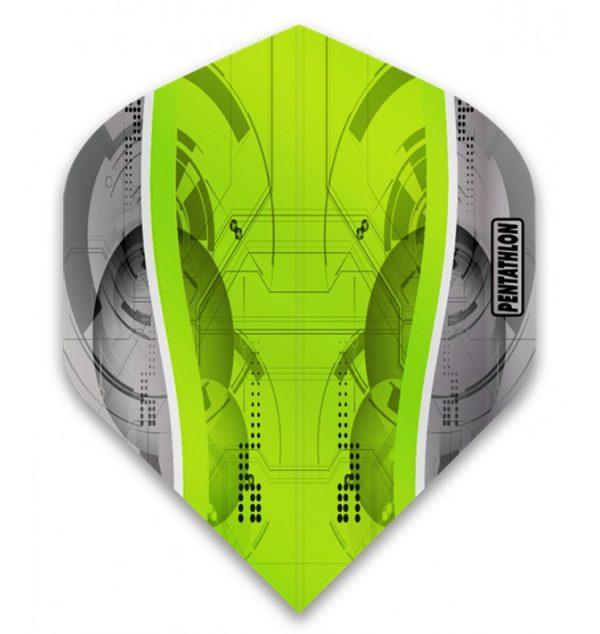 Ailette (3) Pentathlon Silver Edge green large