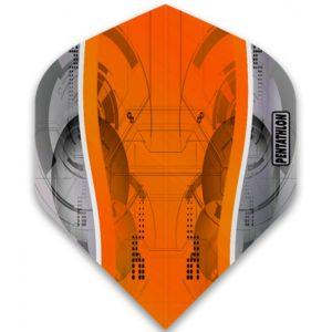 Ailette (3) Pentathlon Silver Edge orange large