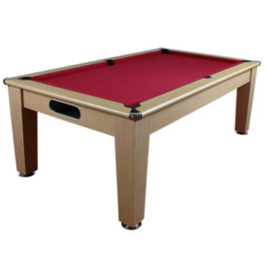 Billard anglais Napoli Oak Diner 7ft