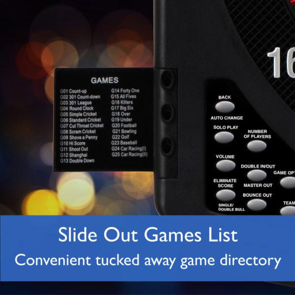 Cible Electronique US Solar Blast Multi Jeux (cricket inclus)