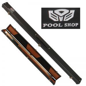 Etui rigide noir Pool Shop Queue 2 pièces 3/4