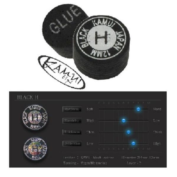 Procédé Kamui Black Hard 12mm, l'unité