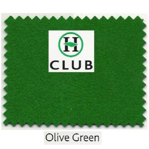 Kit Tapis Snooker Hainsworth Club 12ft Olive