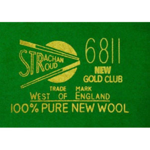 Kit Tapis Snooker 6811 Tournament 30oz 10ft Olive