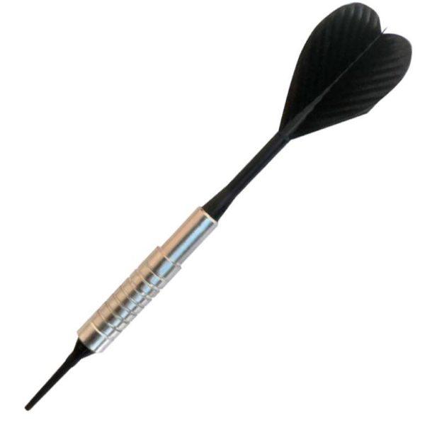 Fléchette nylon Silver HT strong Crinkle 1/4-2BA noire 16g les 10